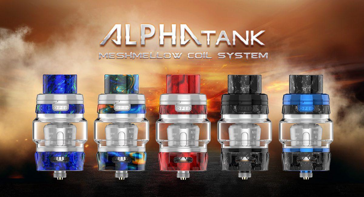 GeekVape Alpha Tank, 2ml med MeshMellow coils.